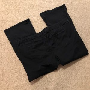 Torrid Black Wide Jeans